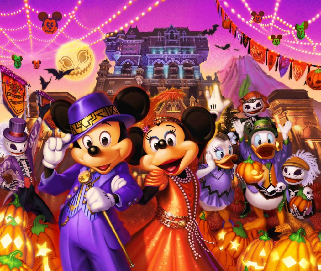 東京ディズニーシー 「ディズニー・ハロウィーン」 ※写真はイメージです©Disney