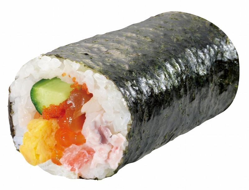 8品目の海鮮恵方巻