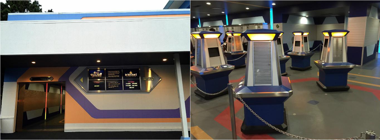 東京ディズニーランドの抽選会場と抽選機