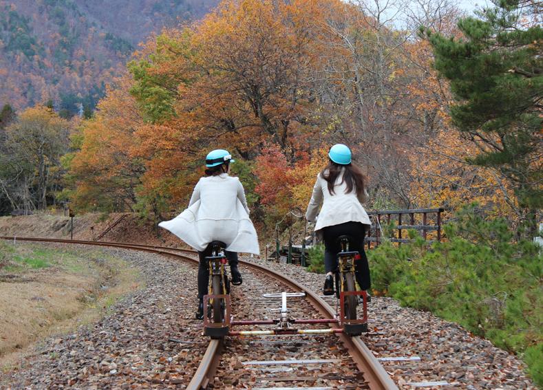 電車の気持ちが分かる!? ひとあじ違ったサイクリング