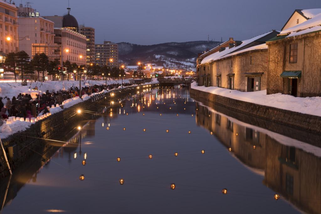 (c) NAOKI OGAWA/a.collectionRF /amanaimages 2015小樽雪あかりの路 (撮影地 北海道小樽市)