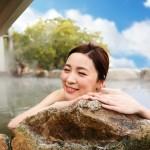 天然温泉でほっこり!