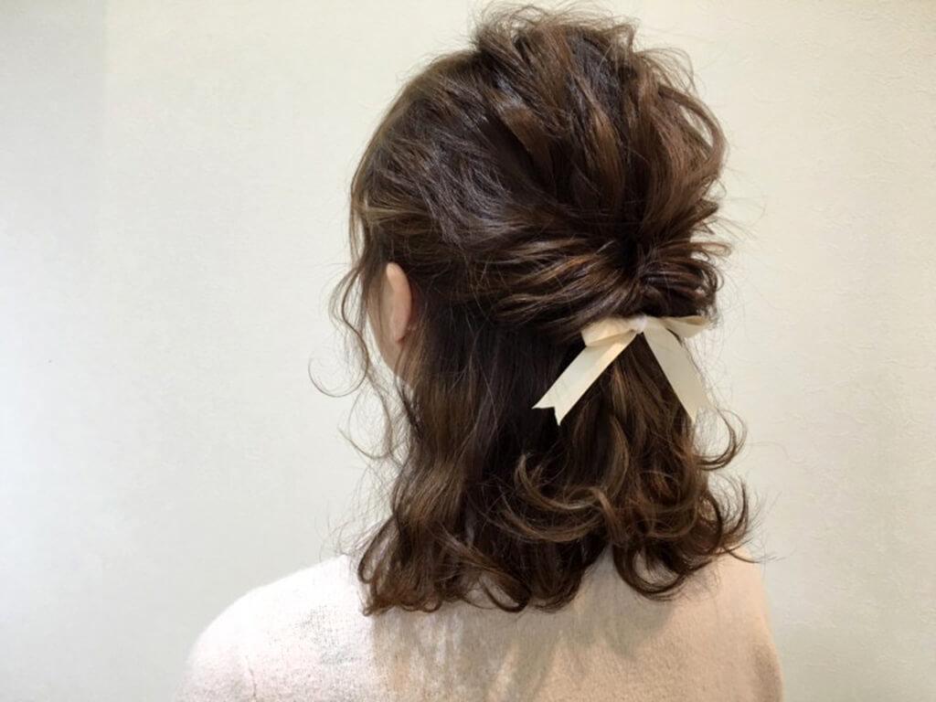 結婚式-親族-髪型-50代