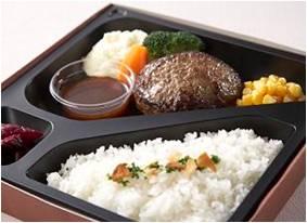 1位 〈ミート矢澤〉黒毛和牛ハンバーグ弁当 1,680円(約8万4千個)【昨年1位】