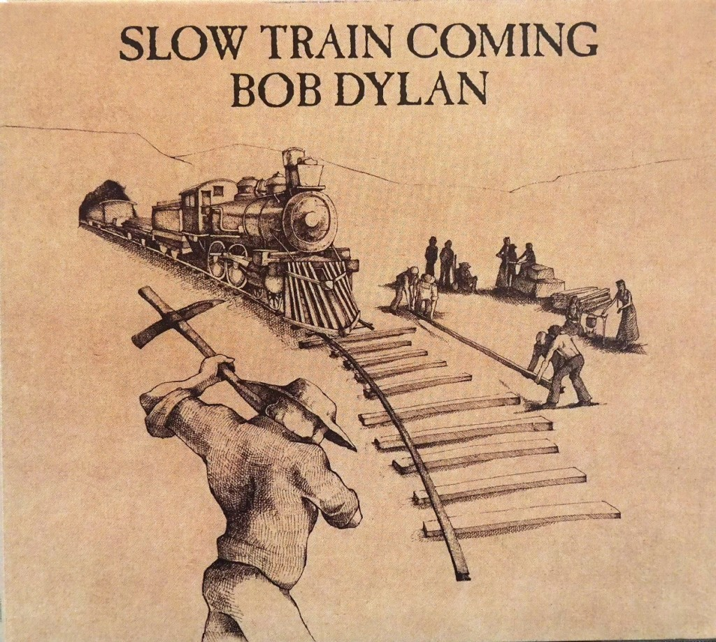 「ガッタ・サーヴ・サムバディ」を収録したボブ・ディランのアルバム『スロー・トレイン・カミング』。