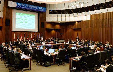 G7、国家のネット介入に対抗 「情報の自由」へ連携 画像1