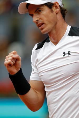 テニス、A・マリーが決勝進出 マドリードOP 画像1