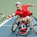 国枝、肘手術から復帰 国別車いすテニスで勝利 画像1