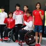 リオ五輪日本の公式ウエア発表 赤基調に桜のデザイン 画像1