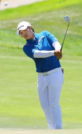 女子ゴルフ、野村8位に後退 全米OP第3日、渡辺20位 画像1