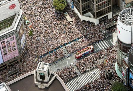 五輪パラ合同パレード開催で調整 10月7日、銀座で 画像1