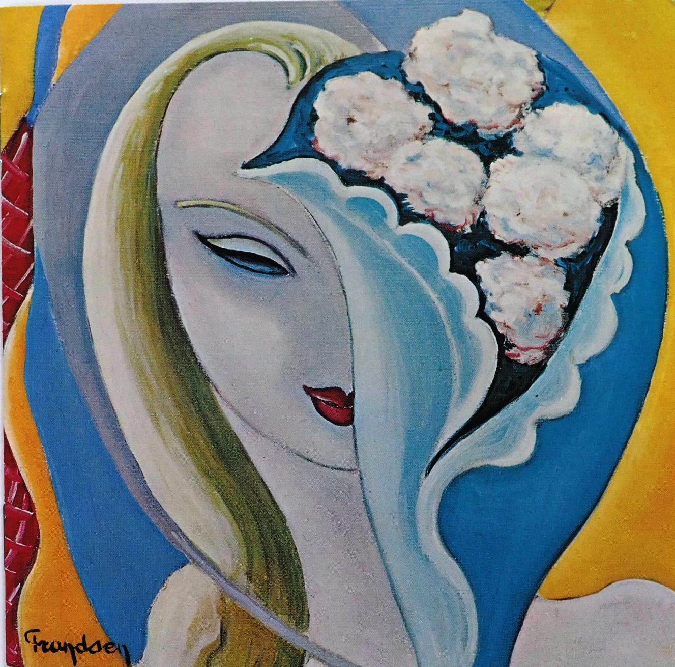 クラプトンがパティにインスパイアされて書いたといわれる「いとしのレイラ」を収めた同名アルバム(デレク・アンド・ドミノス)。