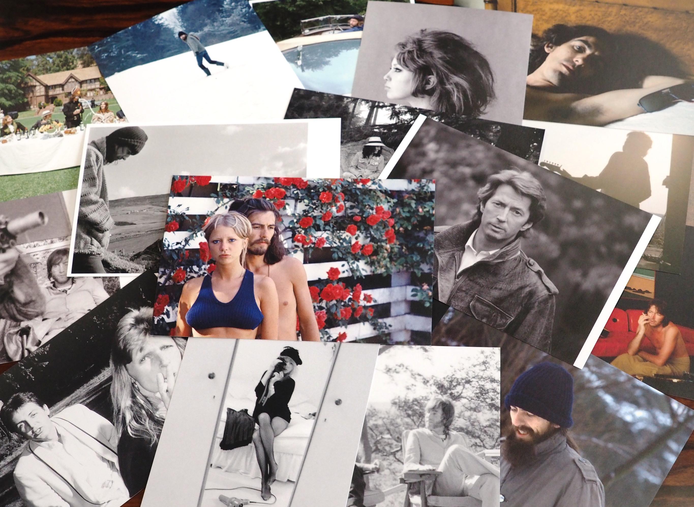 筆者が写真展会場で入手した絵はがきにはジョージとパティの2ショット写真も。