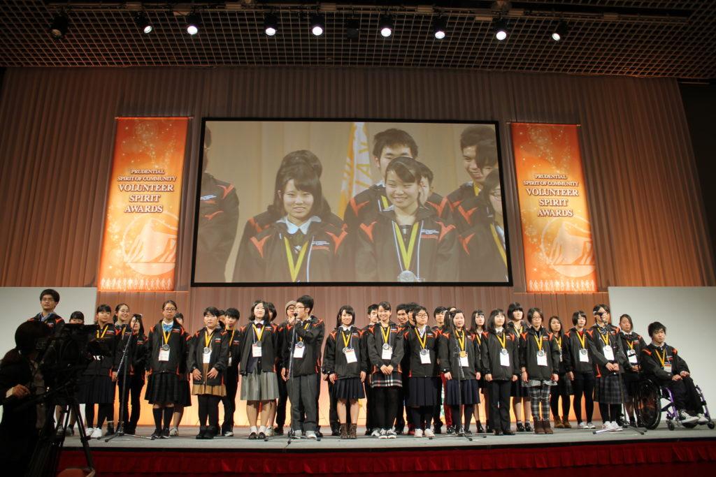 全国表彰式の参加者たち