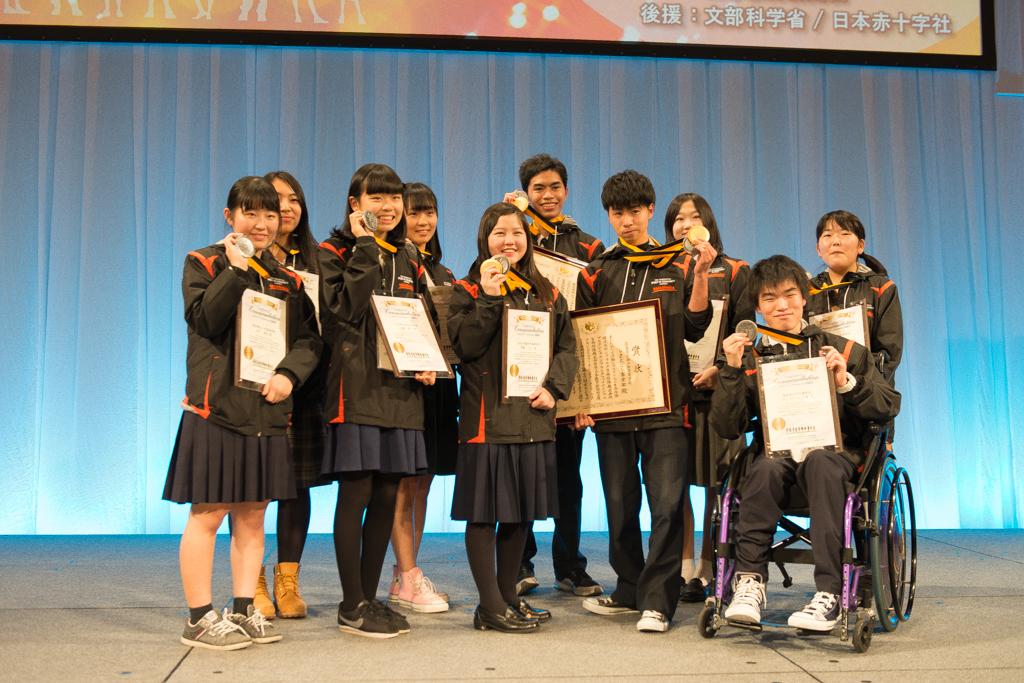 全国表彰式の各賞受賞者たち