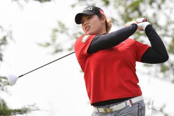 横峯は18位発進、上原67位 米女子ゴルフ第1日 画像1