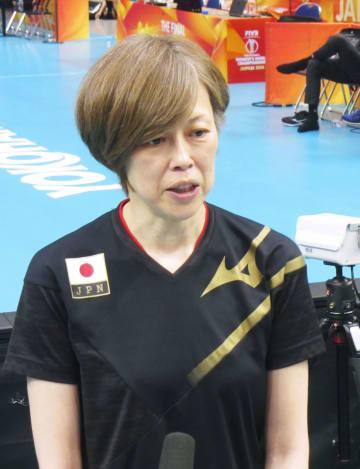 バレー、中田監督「出し切る」 女子世界選手権、5位決定戦 画像1