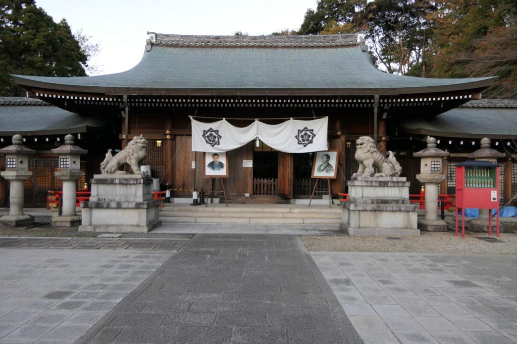 墓前祭が行われた京都霊山護國神社