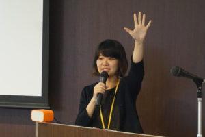 「キリン・スクール・チャレンジ」で講演した、FSCジャパン・河野氏