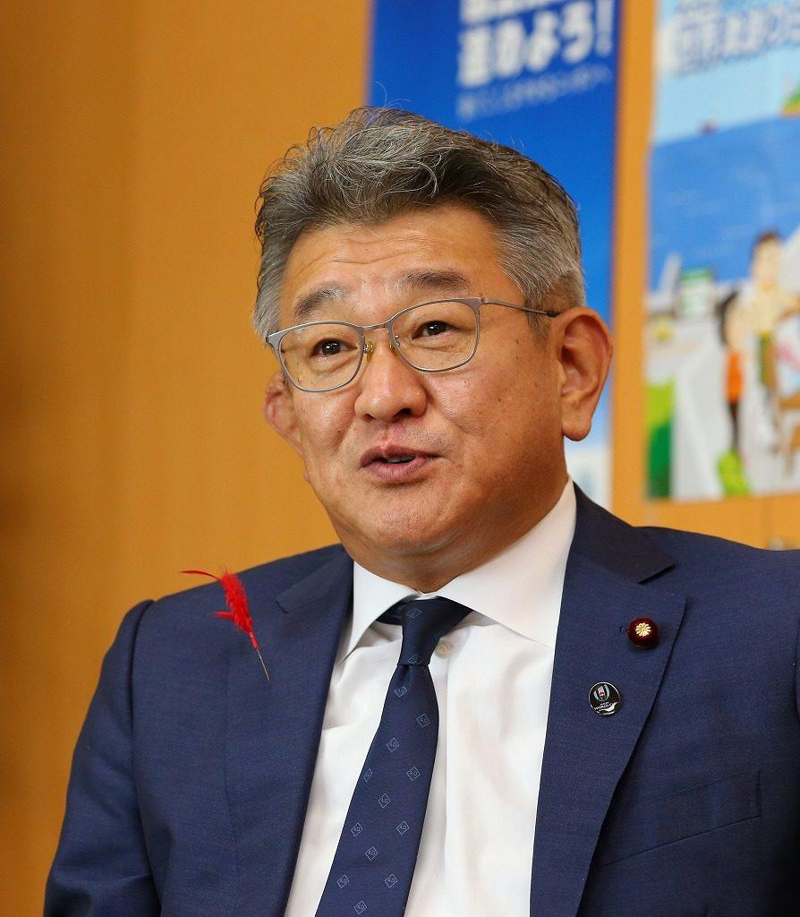 武田 良太氏(たけだ りょうた)1968年生まれ。早稲田大大学院修了。2003年衆院選初当選、衆院当選6回。2013年9月防衛副大臣、2019年9月から防災担当・国土強靱化担当相。福岡県出身