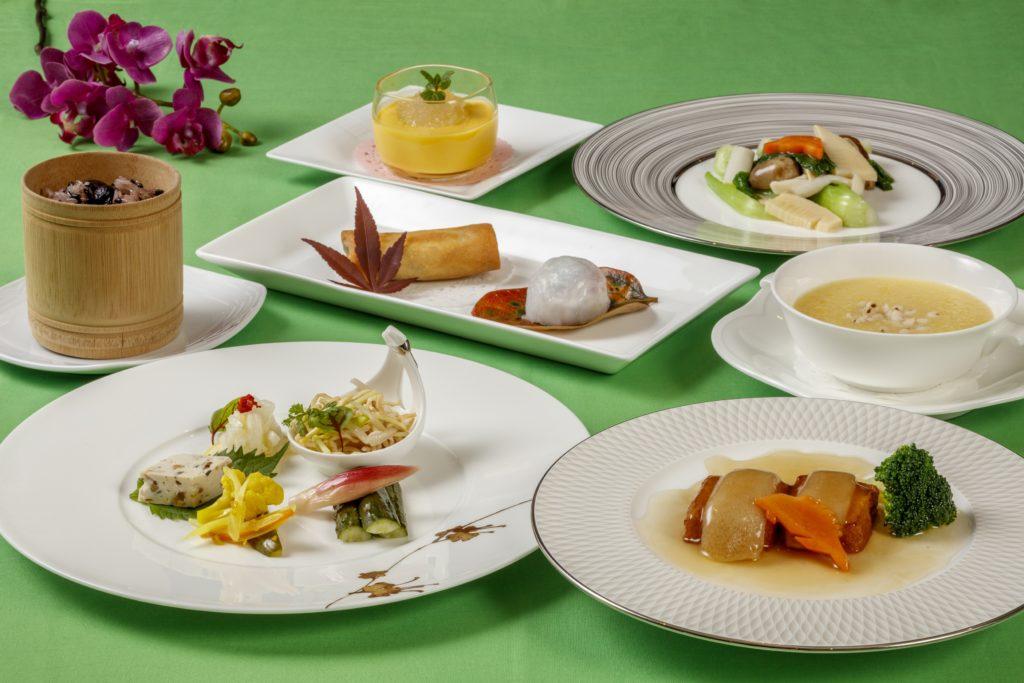 ベジタリアンに対応したコースを提供 ホテルグランヴィア広島、レストラン2店舗で 画像1