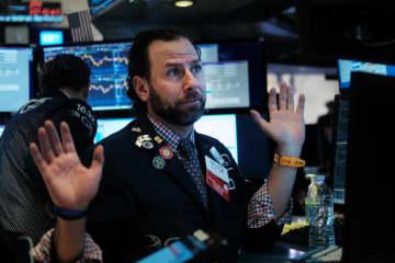 NY株下落、277ドル安 5日ぶり、利益確定売り 画像1