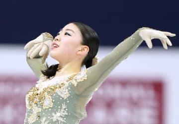 フィギュア紀平、大会初の2連覇 四大陸、樋口は4位で坂本5位 画像1