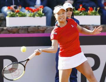 テニス、大坂欠場し日本は3連敗 フェド杯予選、スペイン戦 画像1
