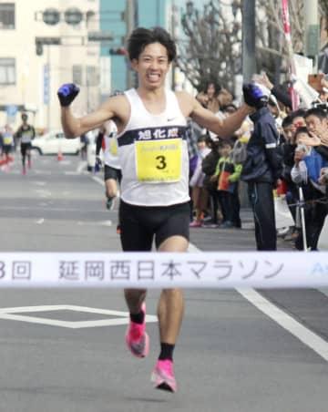 延岡西日本マラソン、松尾が優勝 3年ぶり3度目 画像1