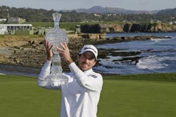 米ゴルフ、テーラーが通算2勝目 男子、AT&T最終日 画像1
