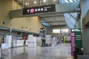 地方の13空港、中国便がゼロに 新型肺炎が影響、観光誘客に打撃 画像1