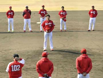 広島、宮崎の1次キャンプ終了 「若手投手、結果残していない」 画像1