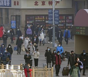 中国、1.6億人が移動へ 春節Uターン、マスク不足深刻 画像1