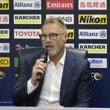 ACL、神戸フィンク監督が会見 「勝つことが第一」 画像1