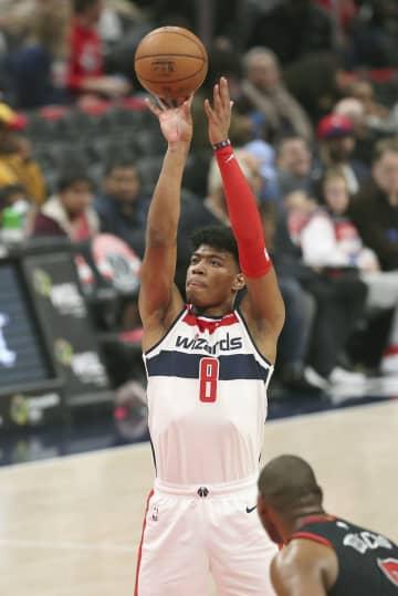 NBA、八村ブルズ戦で20得点 ウィザーズ勝つ 画像1