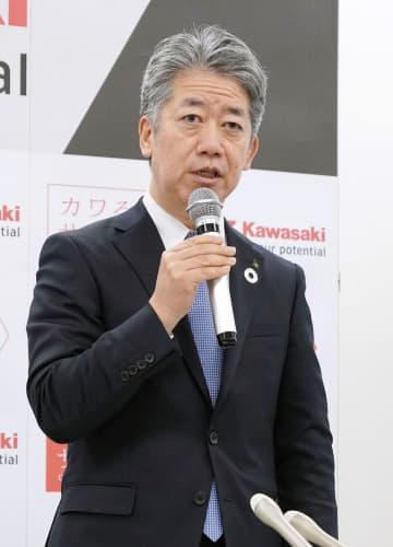 川崎重工社長、橋本氏が昇格 6月、金花氏は会長に 画像1