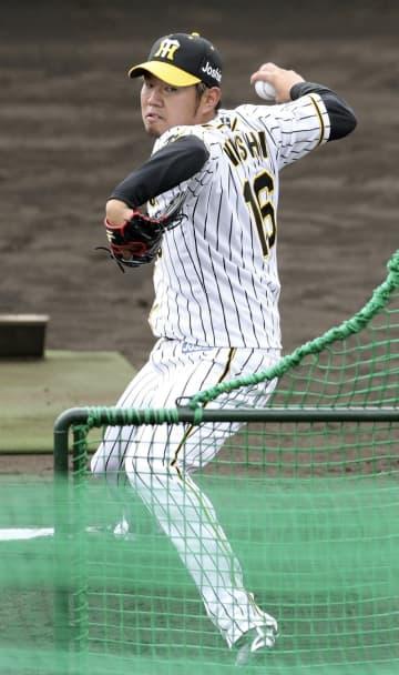 阪神西勇、初の打撃投手 「順調に来ている」 画像1