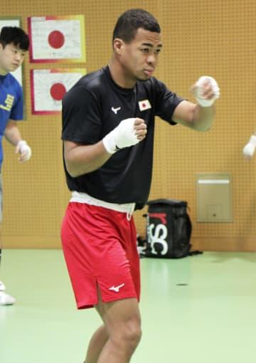 ボクシング男子、強化合宿を公開 五輪予選へ手応え 画像1