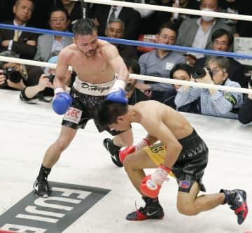 比嘉大吾、再起戦TKO勝利 計量失敗の元世界王者 画像1