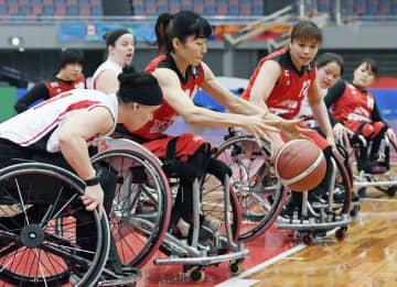 車いすバスケ、日本は開幕2連敗 女子の国際親善大会 画像1