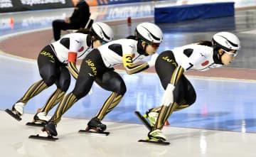スケート日本女子団体、世界新V 距離別、小平は500m優勝 画像1