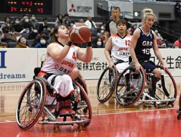 日本、英国に敗れ3連敗 車いすバスケ女子親善大会 画像1