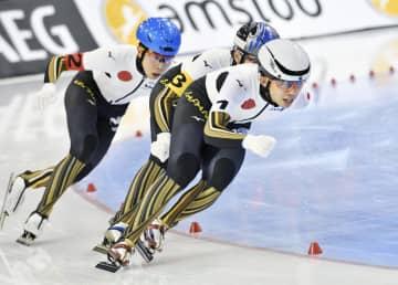 スケート、男子団体追い抜きが銀 世界距離別、高木美帆は3位 画像1