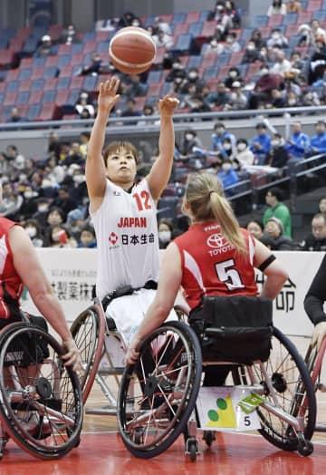 車いすバスケ、日本は4戦全敗 女子の国際親善大会 画像1