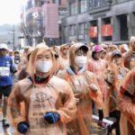 熊本城マラソン、マスク姿も 感染予防、参加者全員に配布 画像1