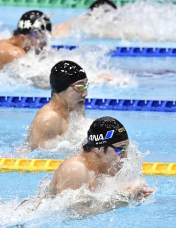 競泳、瀬戸が100m平泳ぎ優勝 コナミオープン最終日 画像1