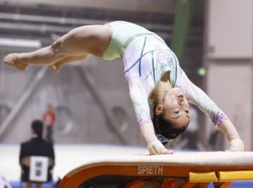 体操の畠田瞳、個人総合の大会V 「1年間ミスなく終えたい」 画像1