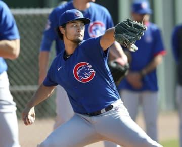MLB、ダルビッシュが投球練習 菊池、平野も、大谷はフリー打撃 画像1