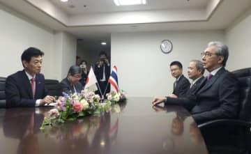 タイ、4月にもTPP参加決定へ 西村氏がソムキット副首相と会談 画像1