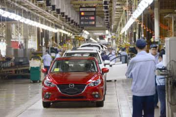 トヨタが中国の2工場生産再開 稼働を抑制、マツダも 画像1